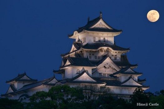 Il castello di Himeji nella Prefettura di Hyogo